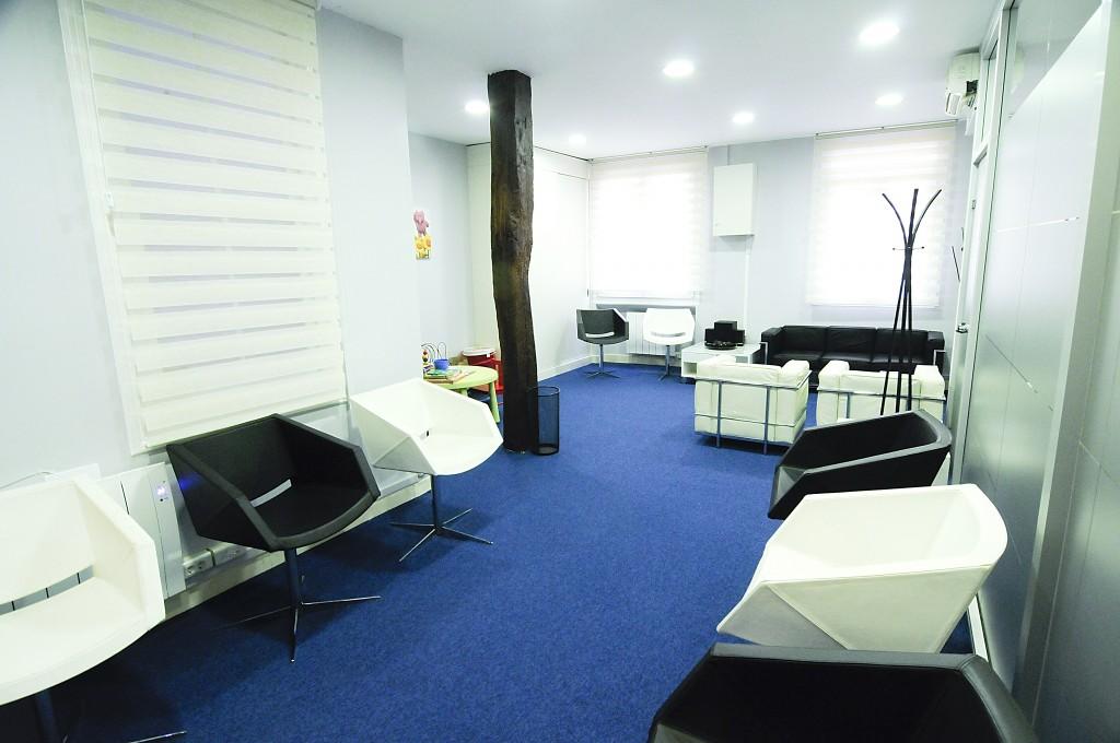 Sala de espera CIO Bilbao