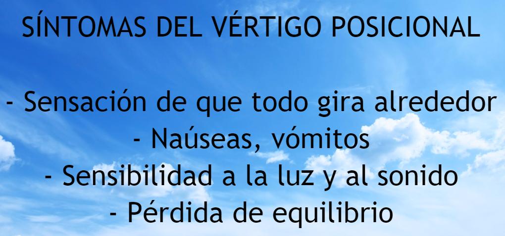 vertigo-posicional-sintomas