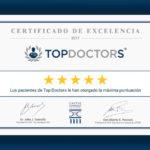 Médicos Otorrinos Especialistas, Premio Excelencia 2017