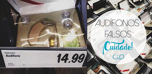 audífonos falsos