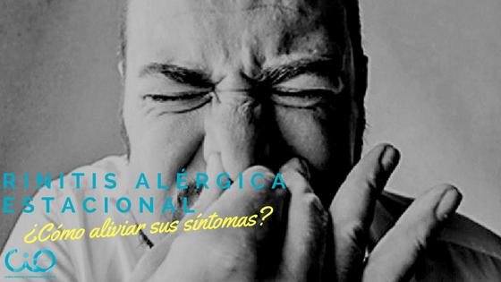 rinitis alérgica estacional
