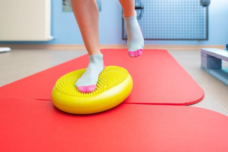 tipos ejercicio esguince tobillo